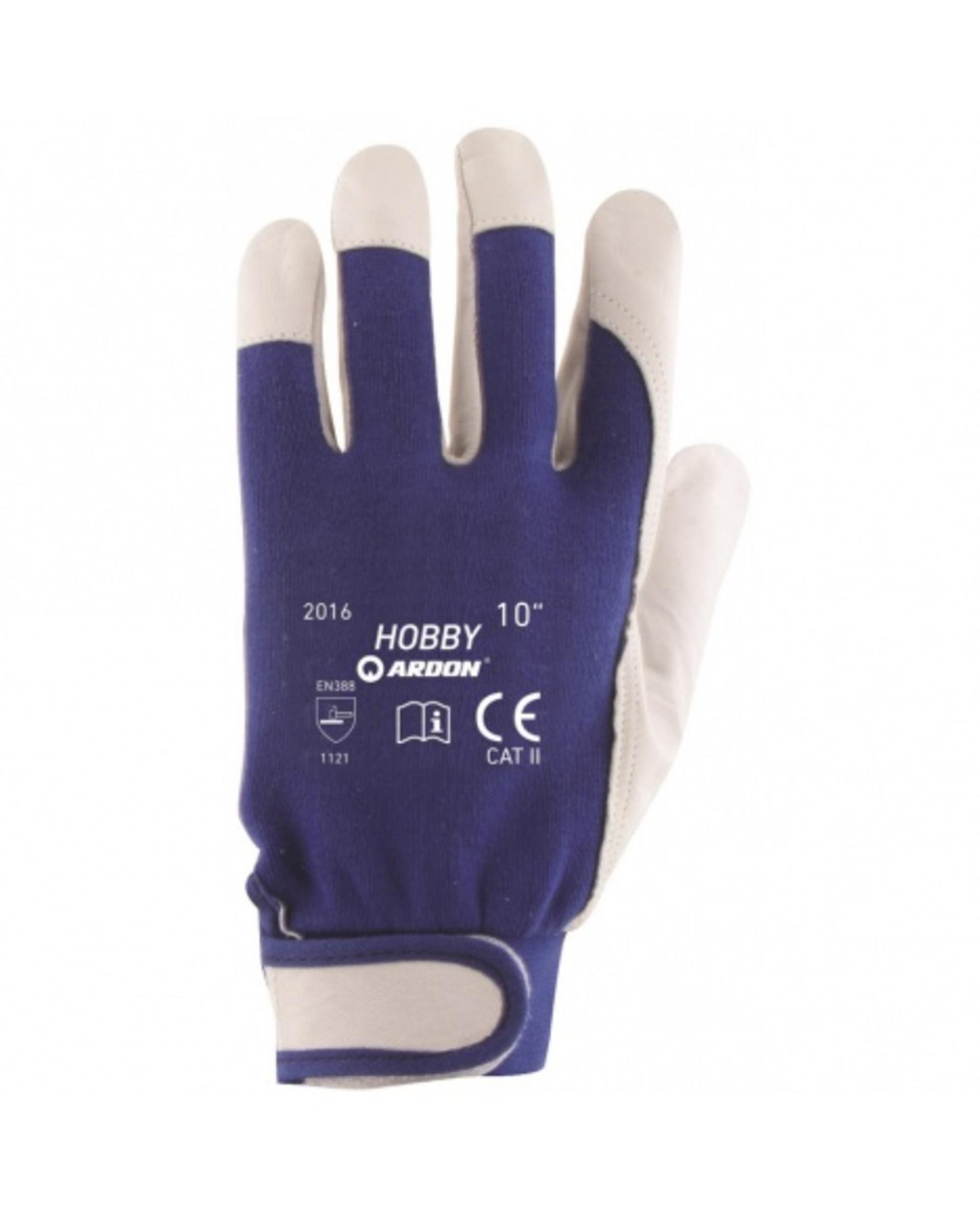 Ardon HOBBY Rukavice kombinované modrá 10