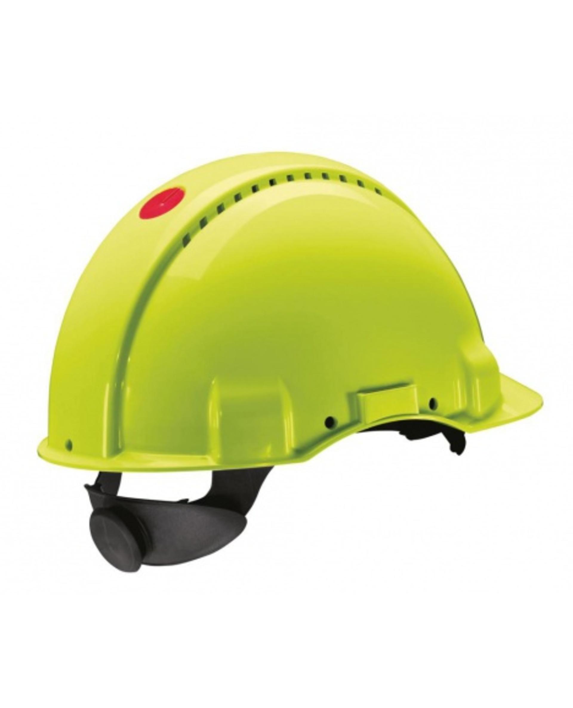 3M PELTOR G3000 Ochranná přilba reflexní žlutá