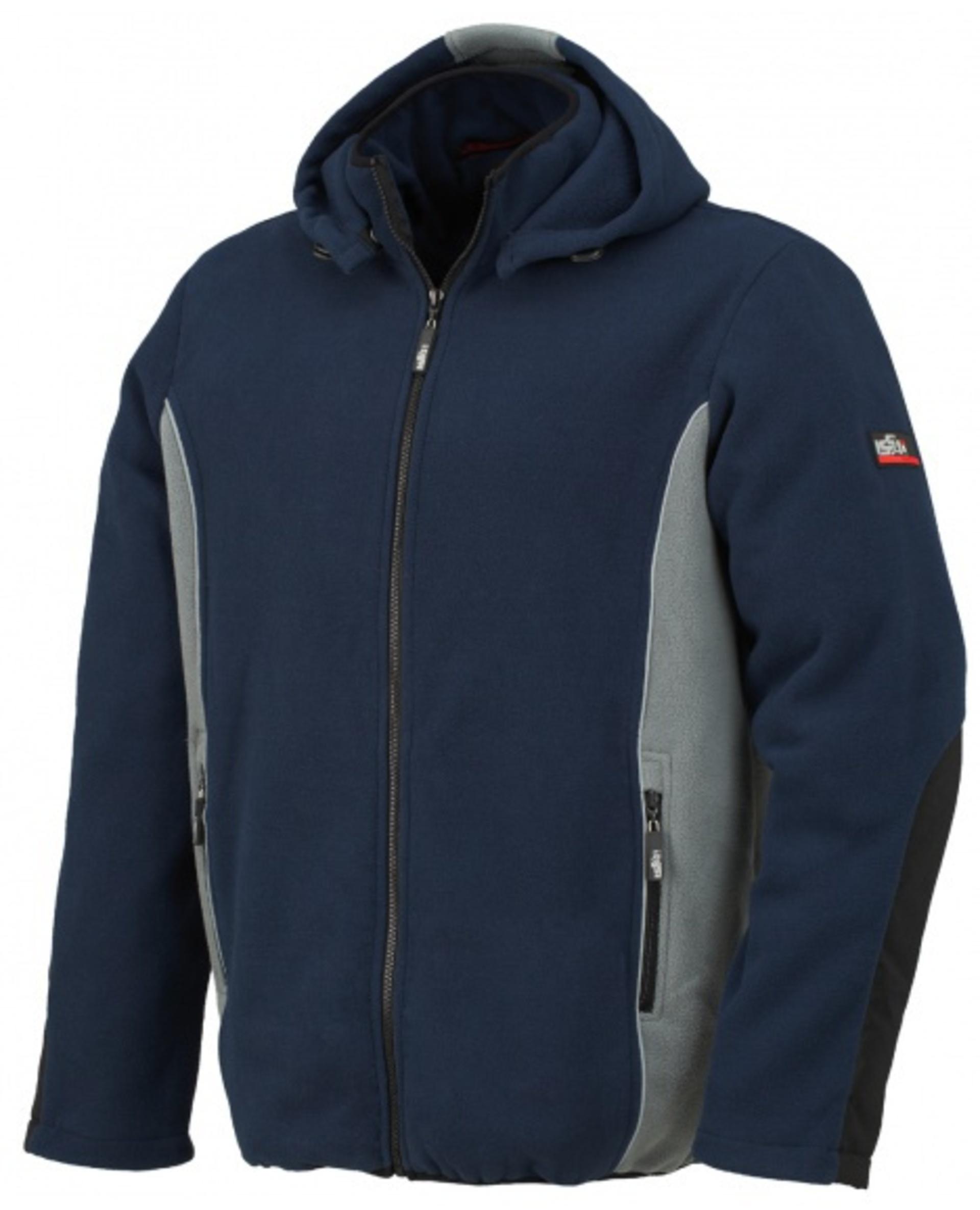 ISSA BOH fleecová Mikina modrá/šedá XL + Bezplatné vrácení zboží