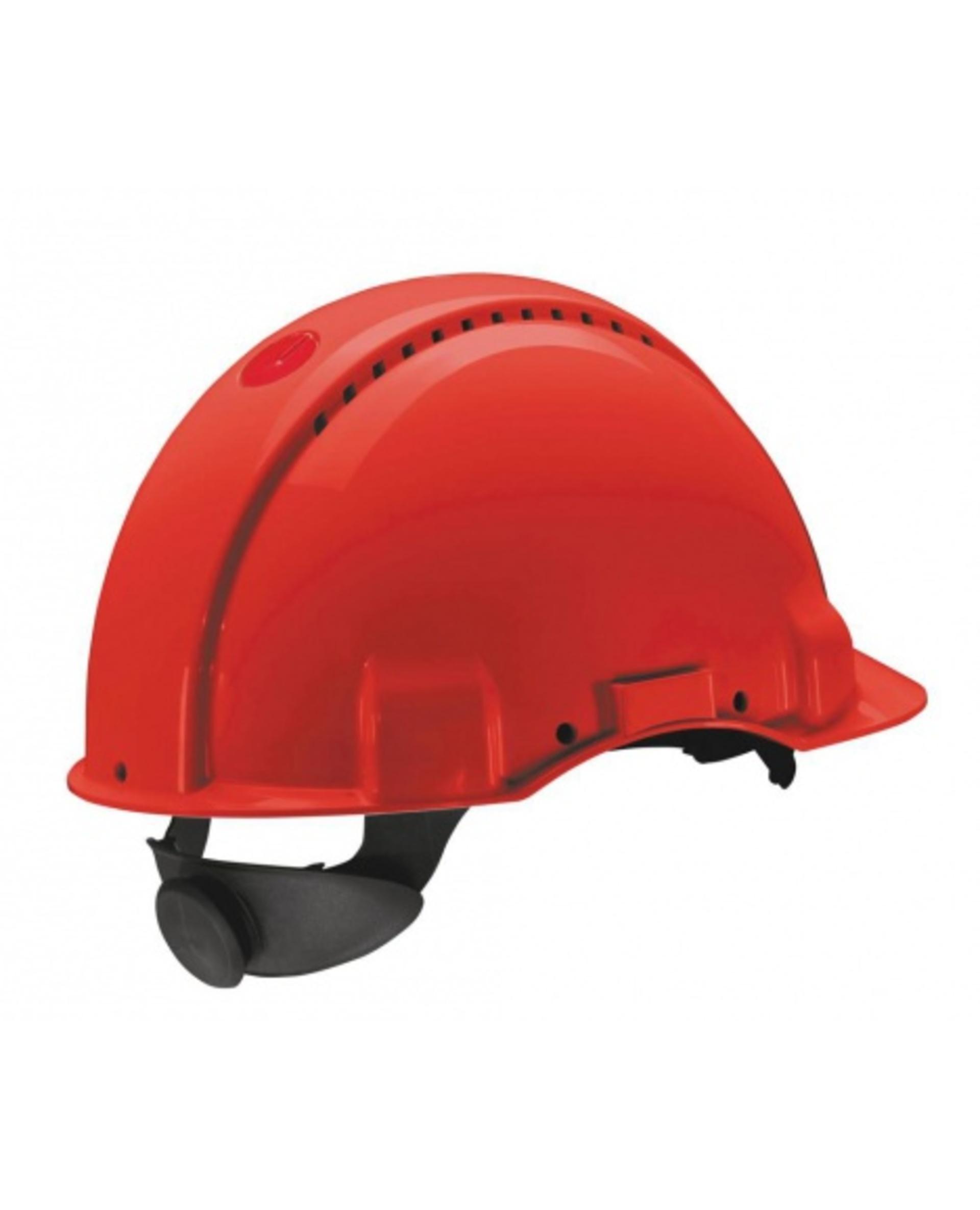 3M PELTOR G3000 Ochranná přilba červená