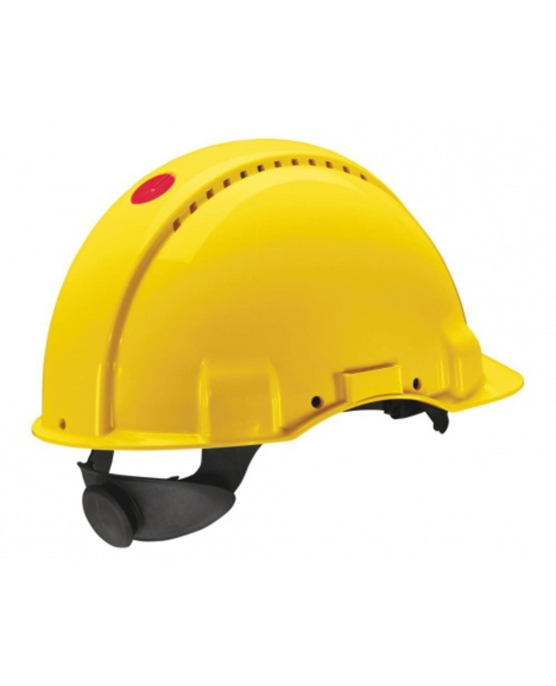 3M PELTOR G3000 Ochranná přilba žlutá