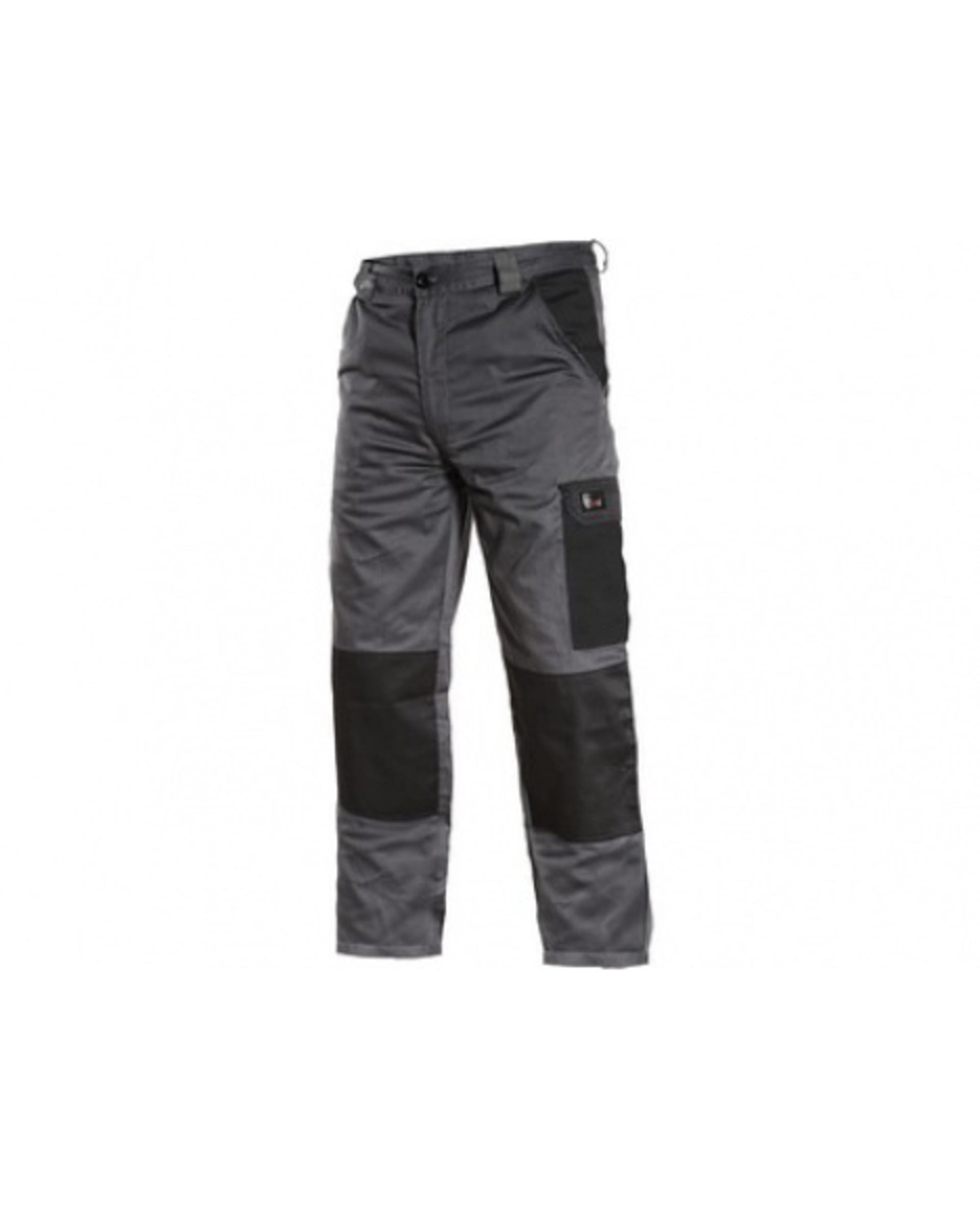 CXS PHOENIX CEFEUS pánské Kalhoty pracovní do pasu šedá/černá 64