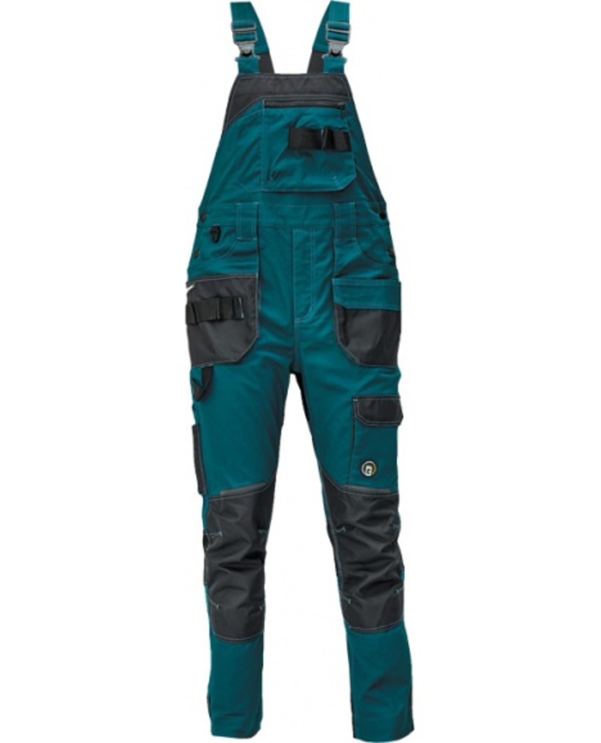 Cerva DAYBORO Kalhoty s laclem zelená 58