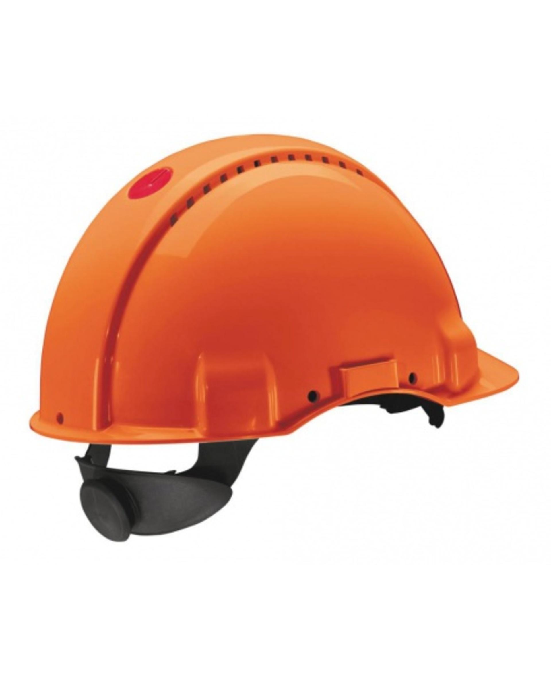 3M PELTOR G3000 Ochranná přilba oranžová
