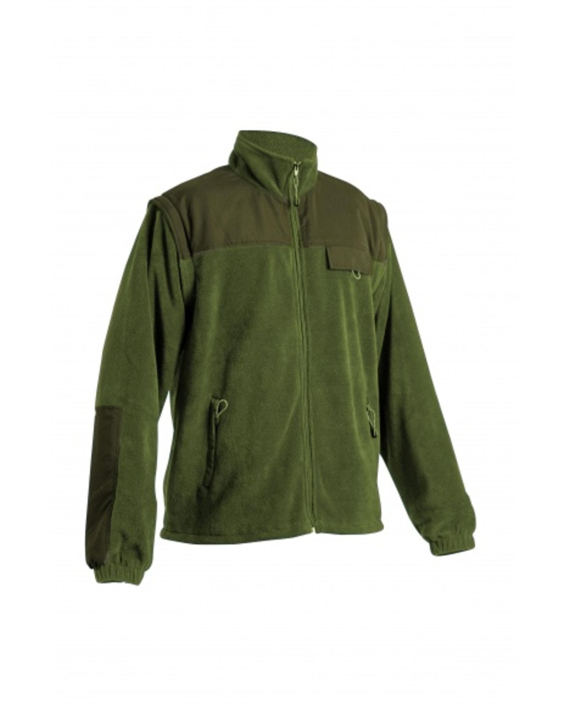 Cerva RANDWIK fleecová 2v1 Bunda lahvově zelená M