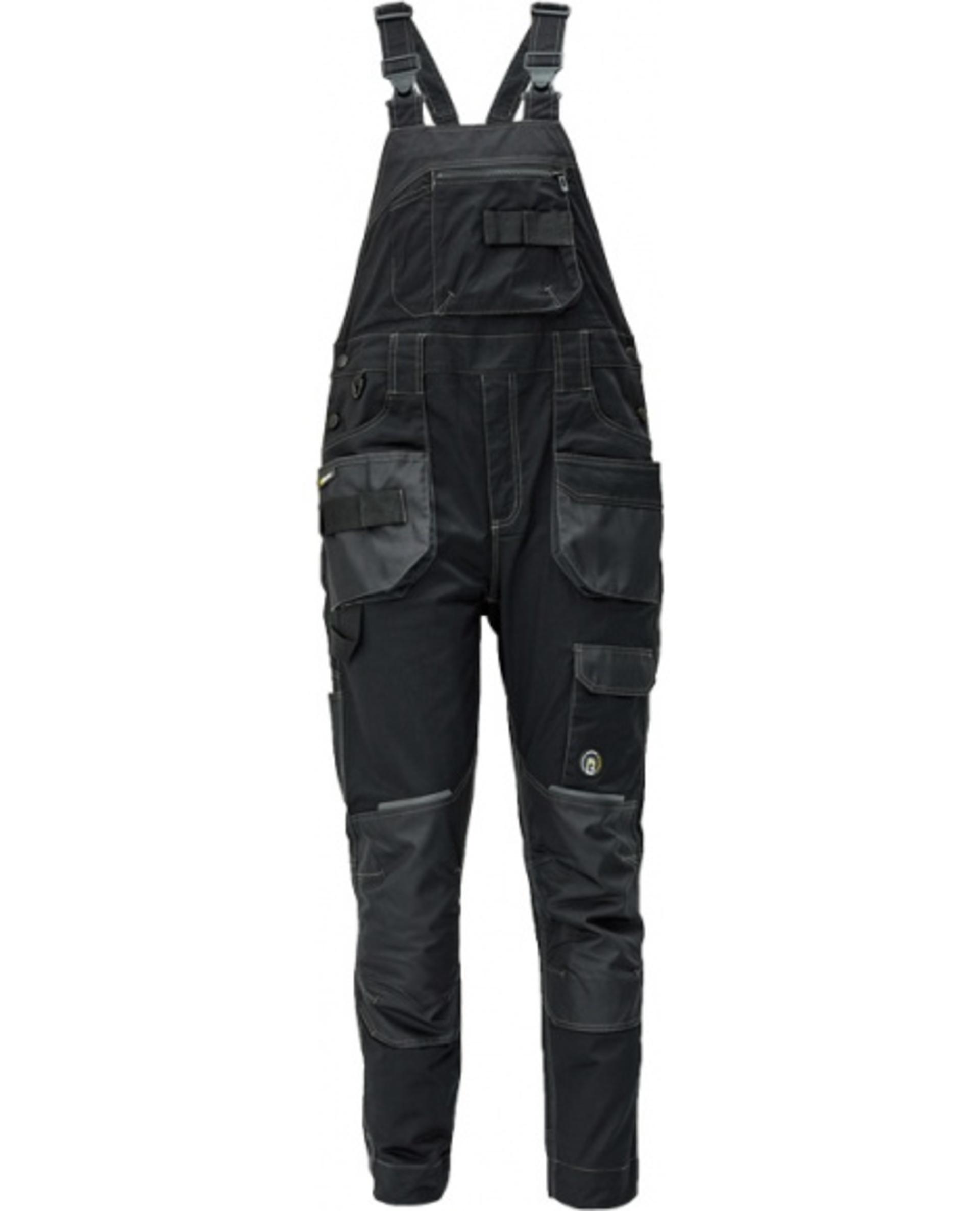 Cerva DAYBORO Kalhoty s laclem černá 58