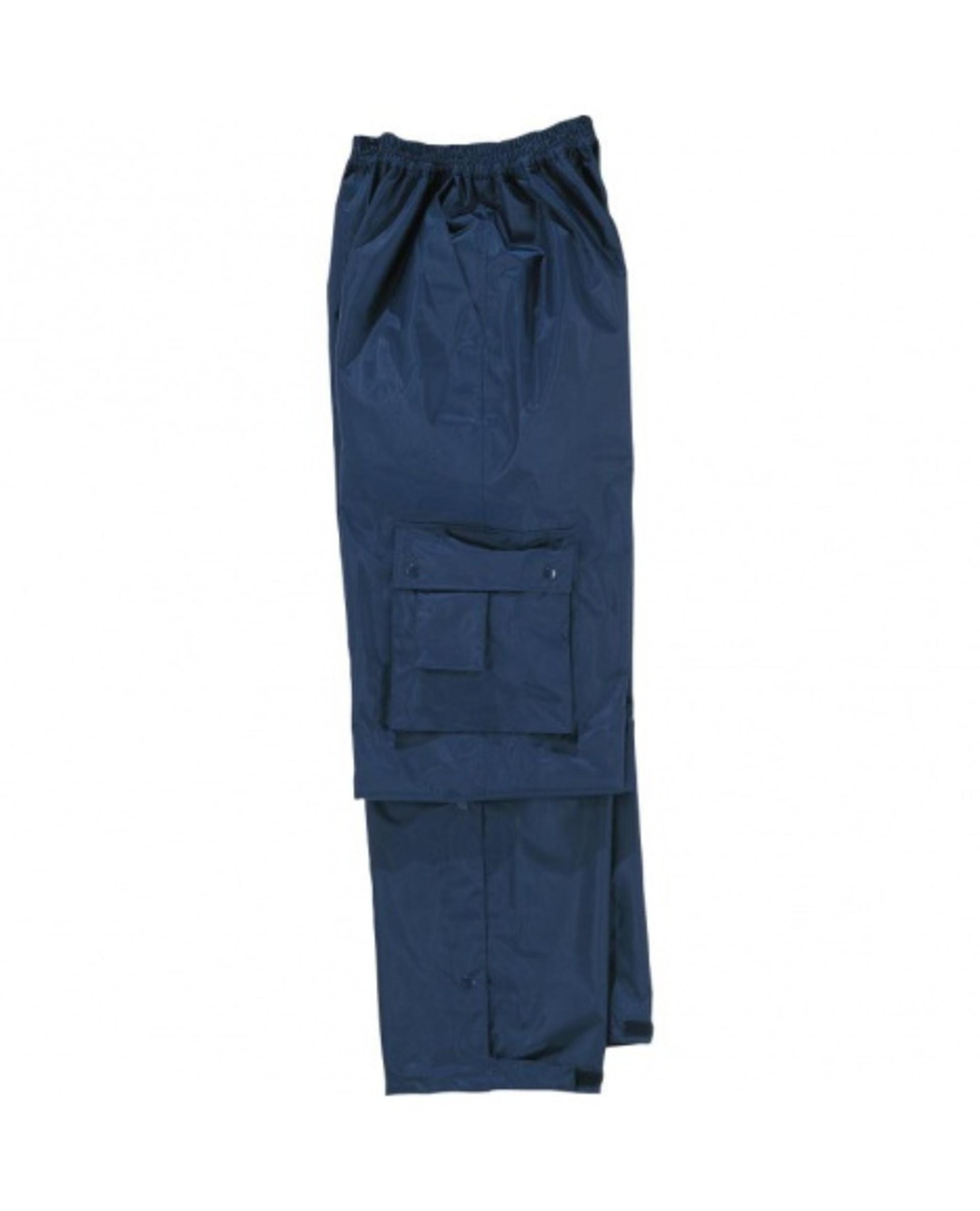 Levně DeltaPlus TYPHOON Kalhoty nepromokavé nám.modrá XL
