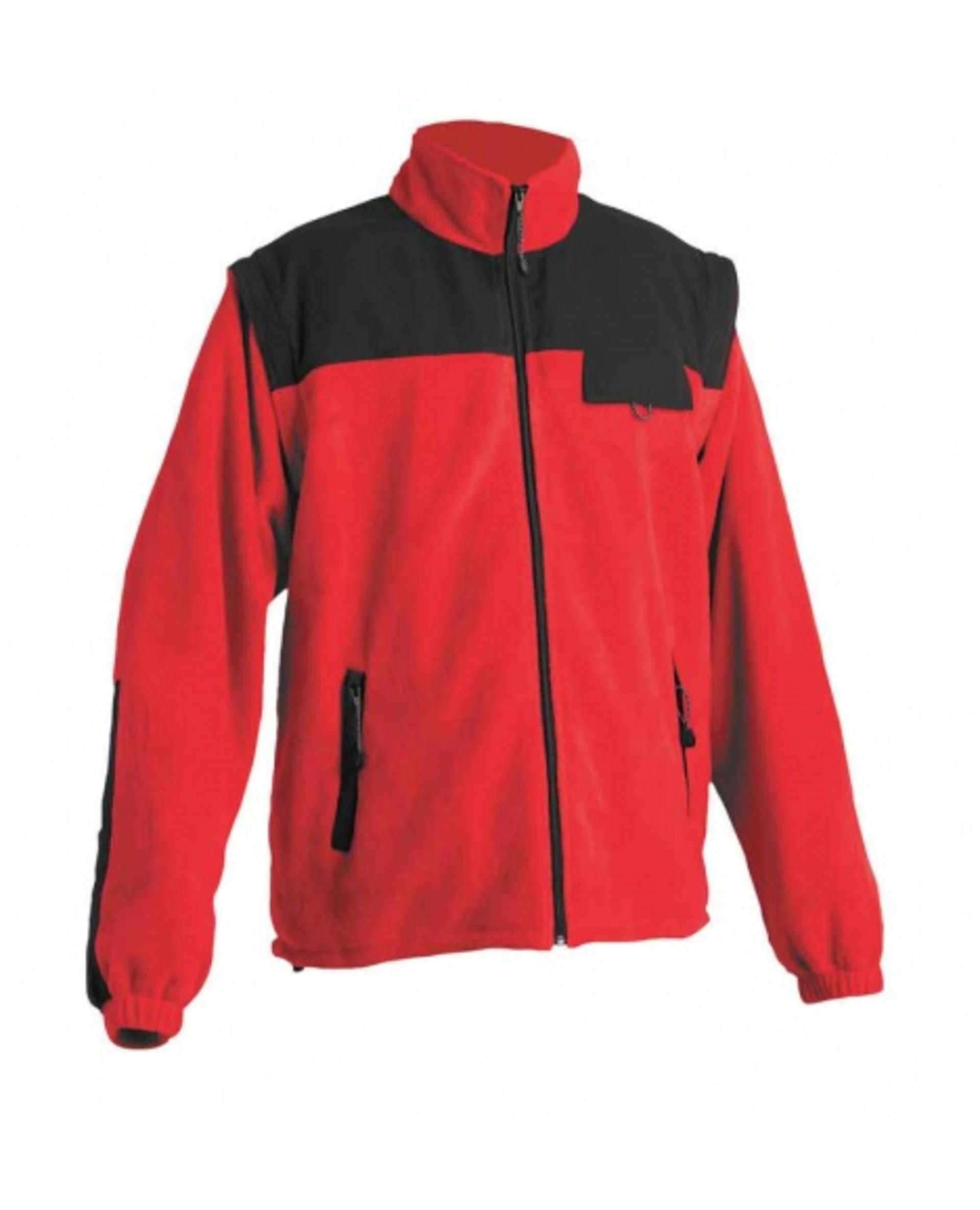 Cerva RANDWIK fleecová 2v1 Bunda červená L