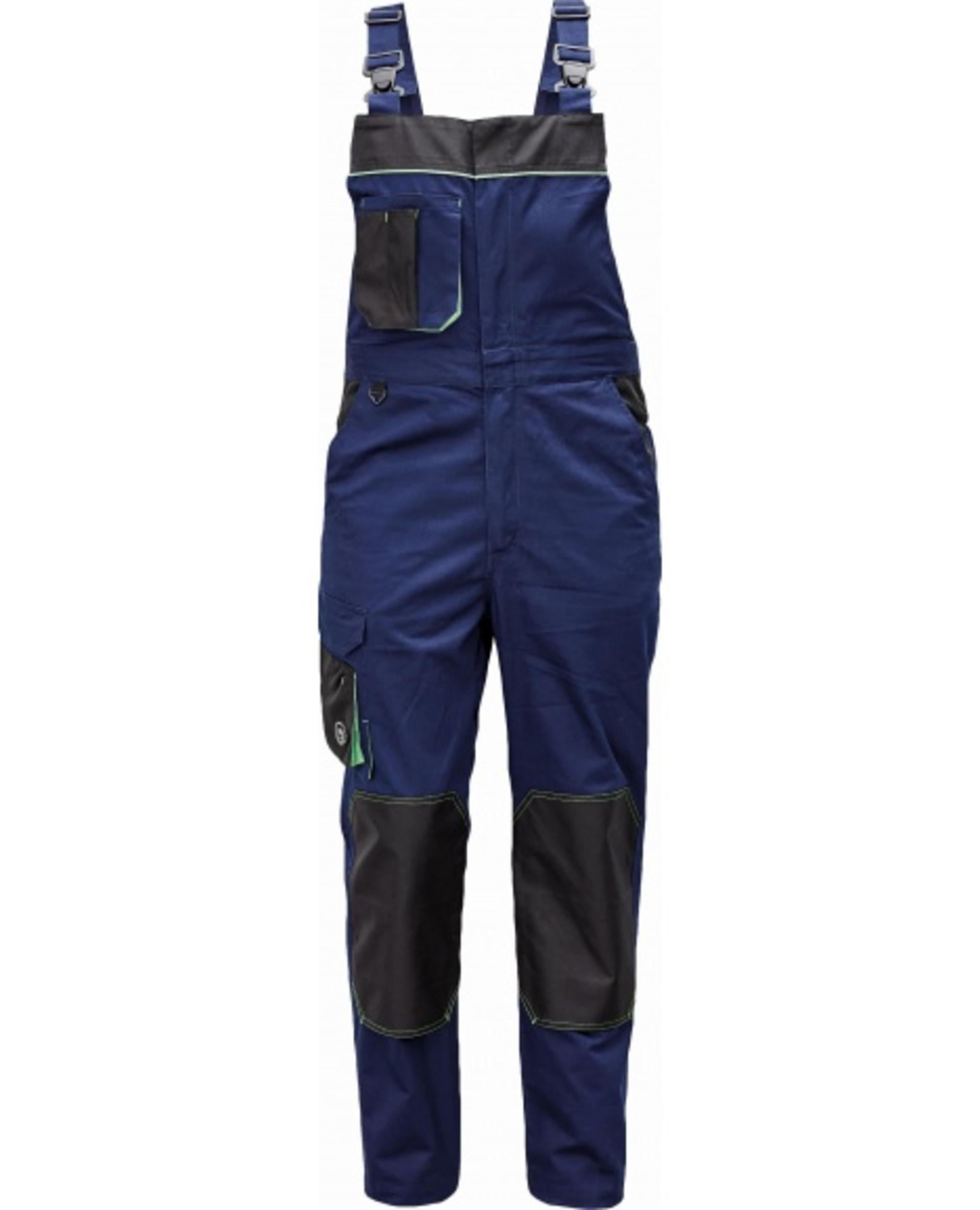 Levně Cerva CREMORNE Kalhoty s laclem tmavě modrá 54
