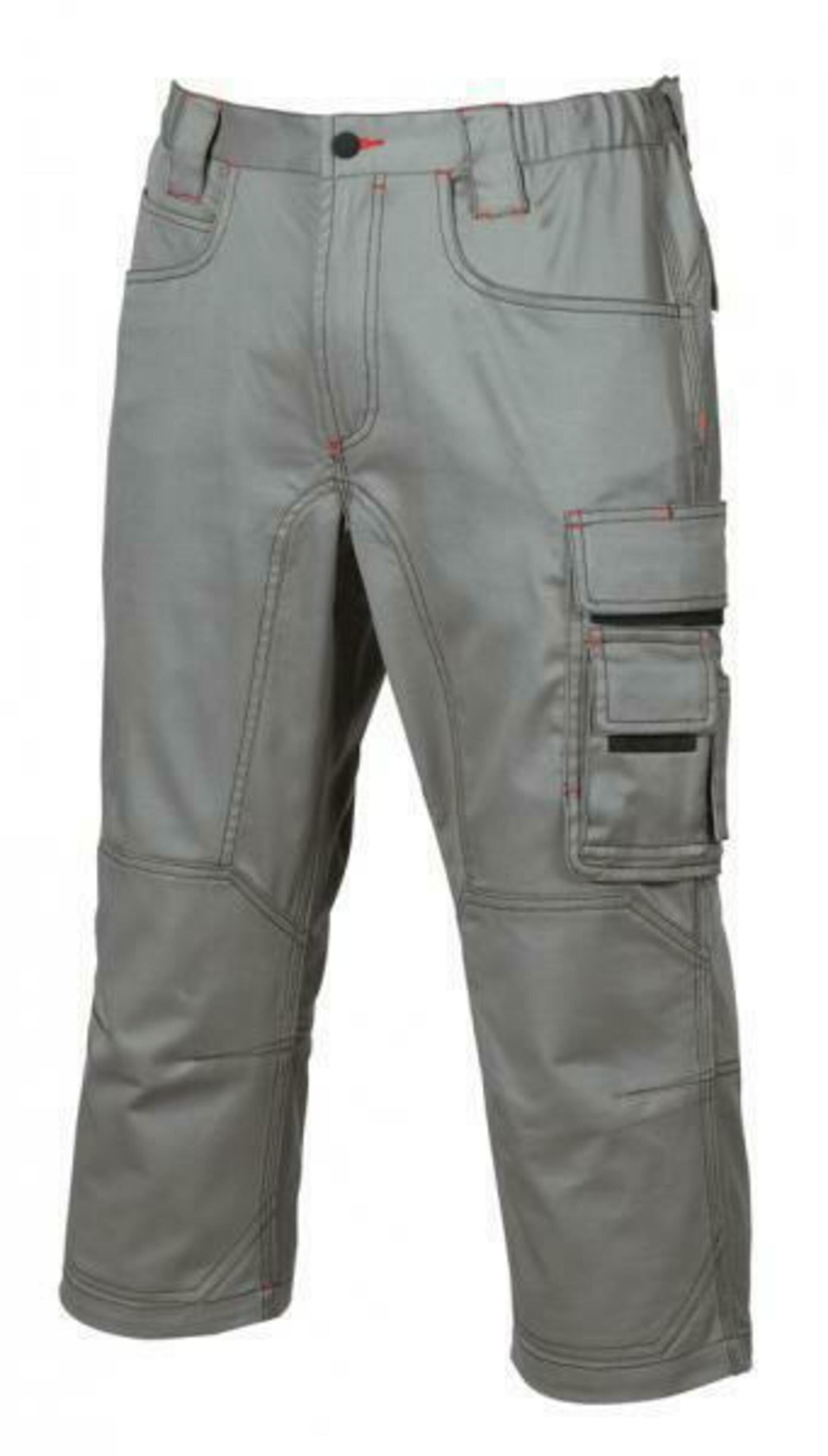 U-Power DANCE 3/4 Kalhoty světle šedá 64