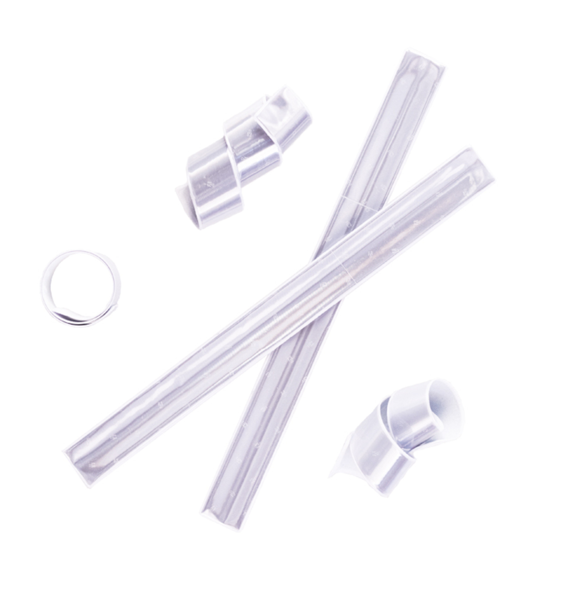 Inzep bílá Reflexní páska FLEXI 995 samonavíjecí bílá bílá 32x3cm bílá