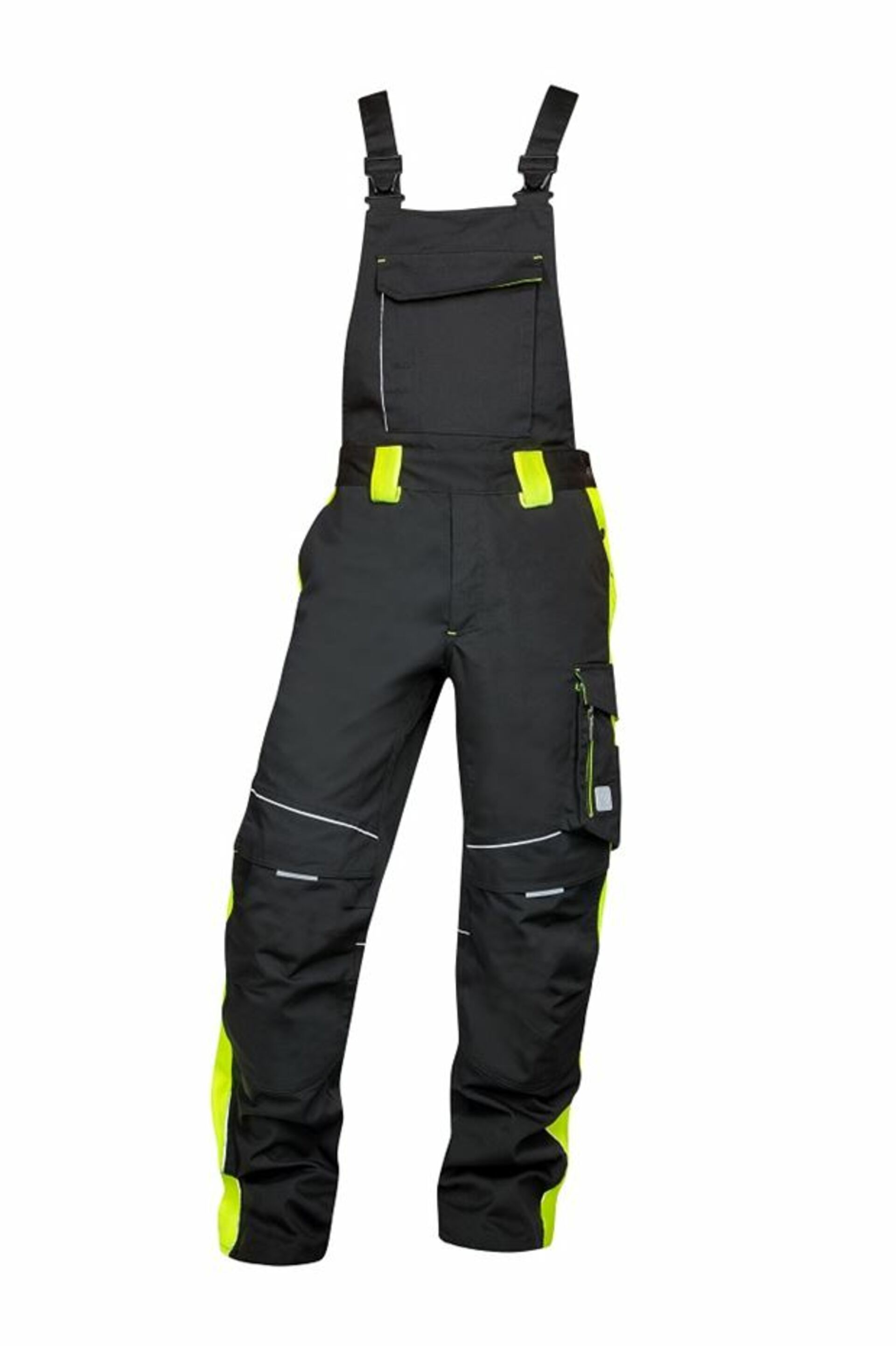 Ardon NEON Kalhoty s laclem černá/žlutá 56