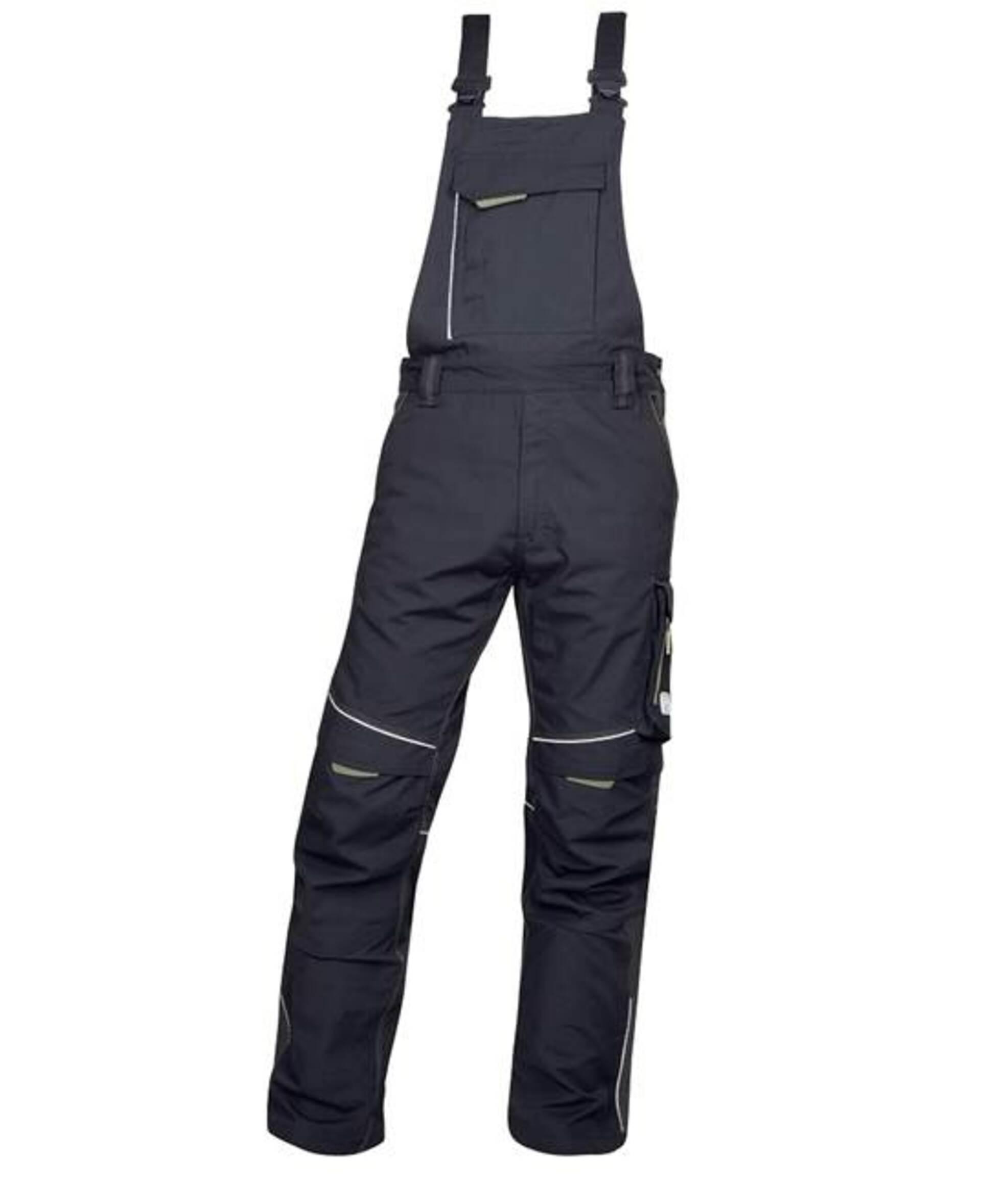 Ardon URBAN Kalhoty s laclem černá/šedá 182 58