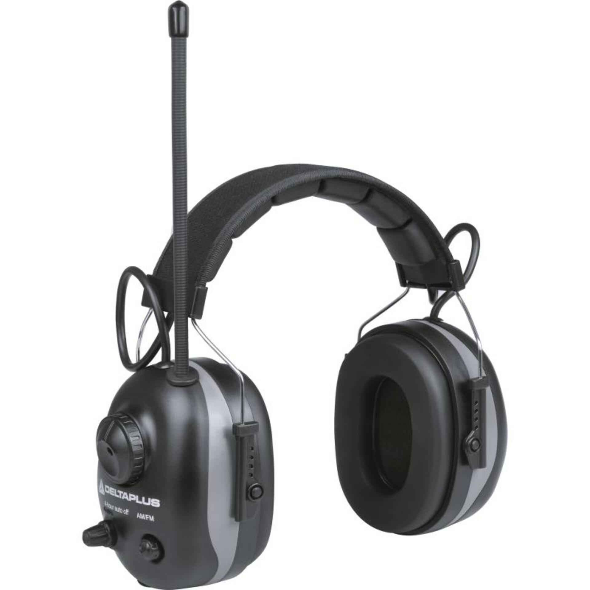 DeltaPlus PIT-RADIO 3 27dB Mušlový chránič s rádiem