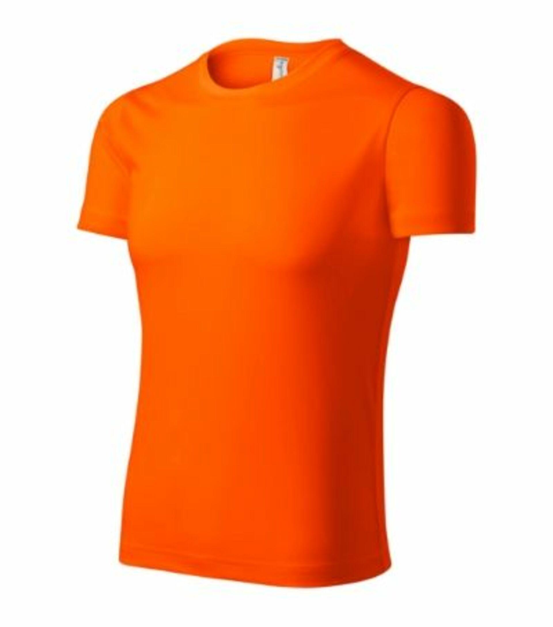 Malfini ADLER PIXEL P81 Tričko oranžová L
